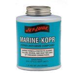 Copper based high temperature anti-seize for marine applications Jet-Lube Marine KopR Anti-Seize Compound.
