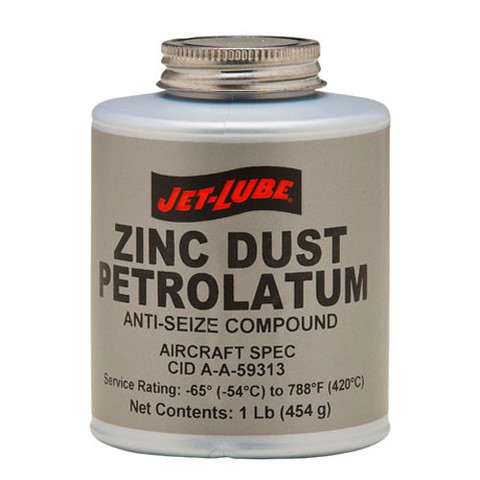 Jet-Lube Zinc Dust Petrolatum Anti-Seize