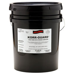 Long term storage compound Jet-Lube Korr-Guard.