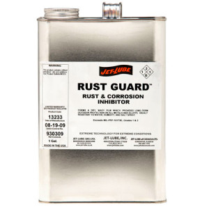 Rust and corrosion inhibitor Jet-Lube Rust Guard.